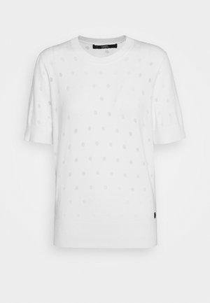 BURNOUT DOT - Basic T-shirt - whisper white