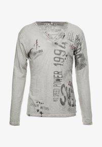 Key Largo - SPEED - Maglietta a manica lunga - silver - 3