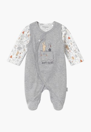 SET - Sleep suit - stone grey