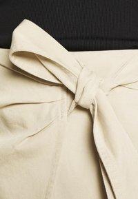 Samsøe Samsøe - MILANI SKIRT  - Mini skirt - brown rice - 6