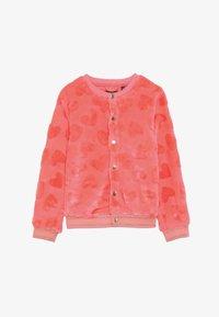 Lemon Beret - SMALL GIRLS  - Kurtka z polaru - neon coral - 2