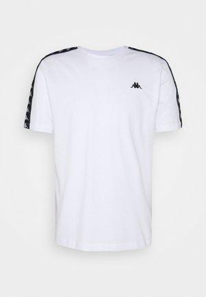JANNO - Camiseta estampada - bright white