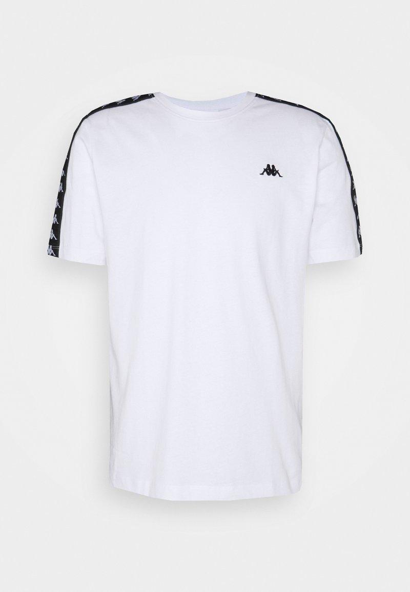 Kappa - JANNO - T-Shirt print - bright white