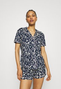 s.Oliver - SHORTY  - Pyjama set - dark blue - 0