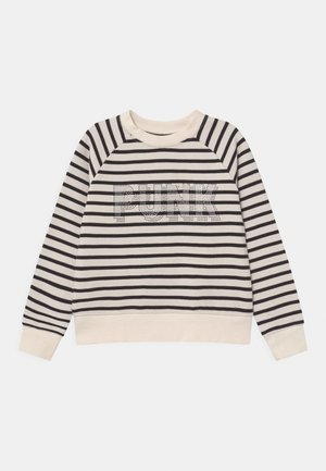 Sweatshirt - off white/black