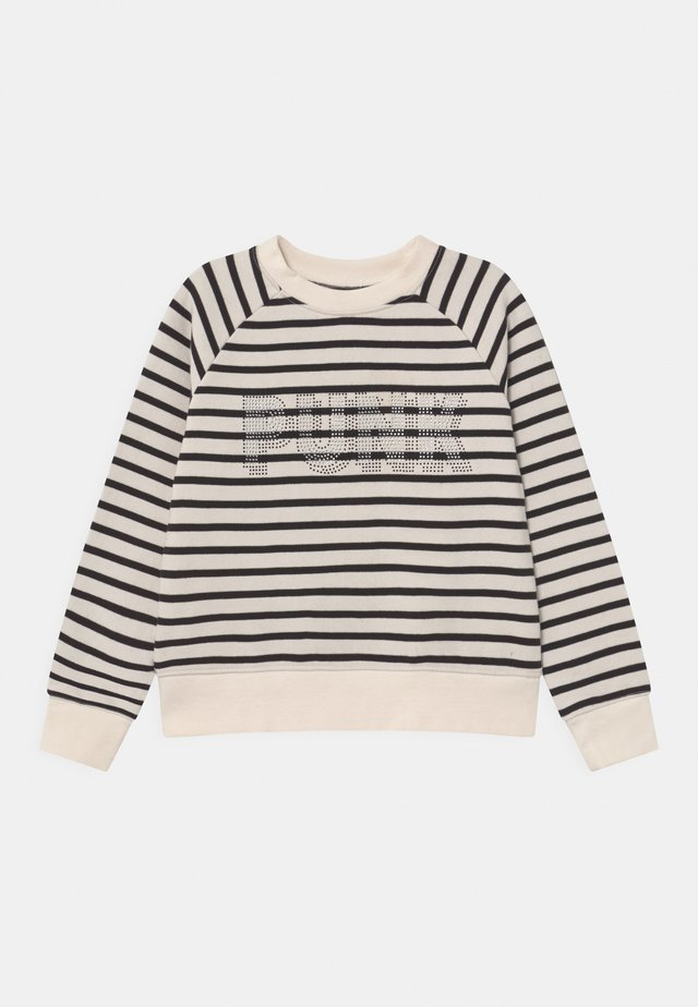 Sweatshirt - off white/black