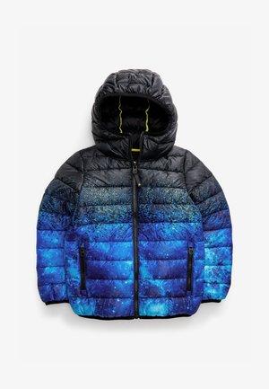 SPACE PRINT - Winter jacket - blue-grey