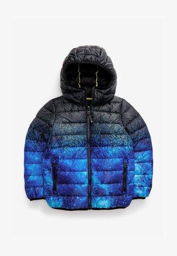 SPACE PRINT - Zimní bunda - blue-grey