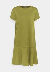 Marc O'Polo DENIM - PEPLUM DRESS - Jersey dress - fresh herbs - 0
