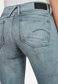 G-Star - LYNN MID SKINNY - Jeans Skinny - light blue - 3