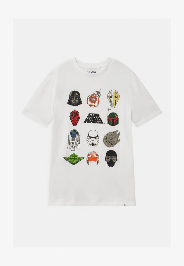 BOY  - T-shirt med print - new off white