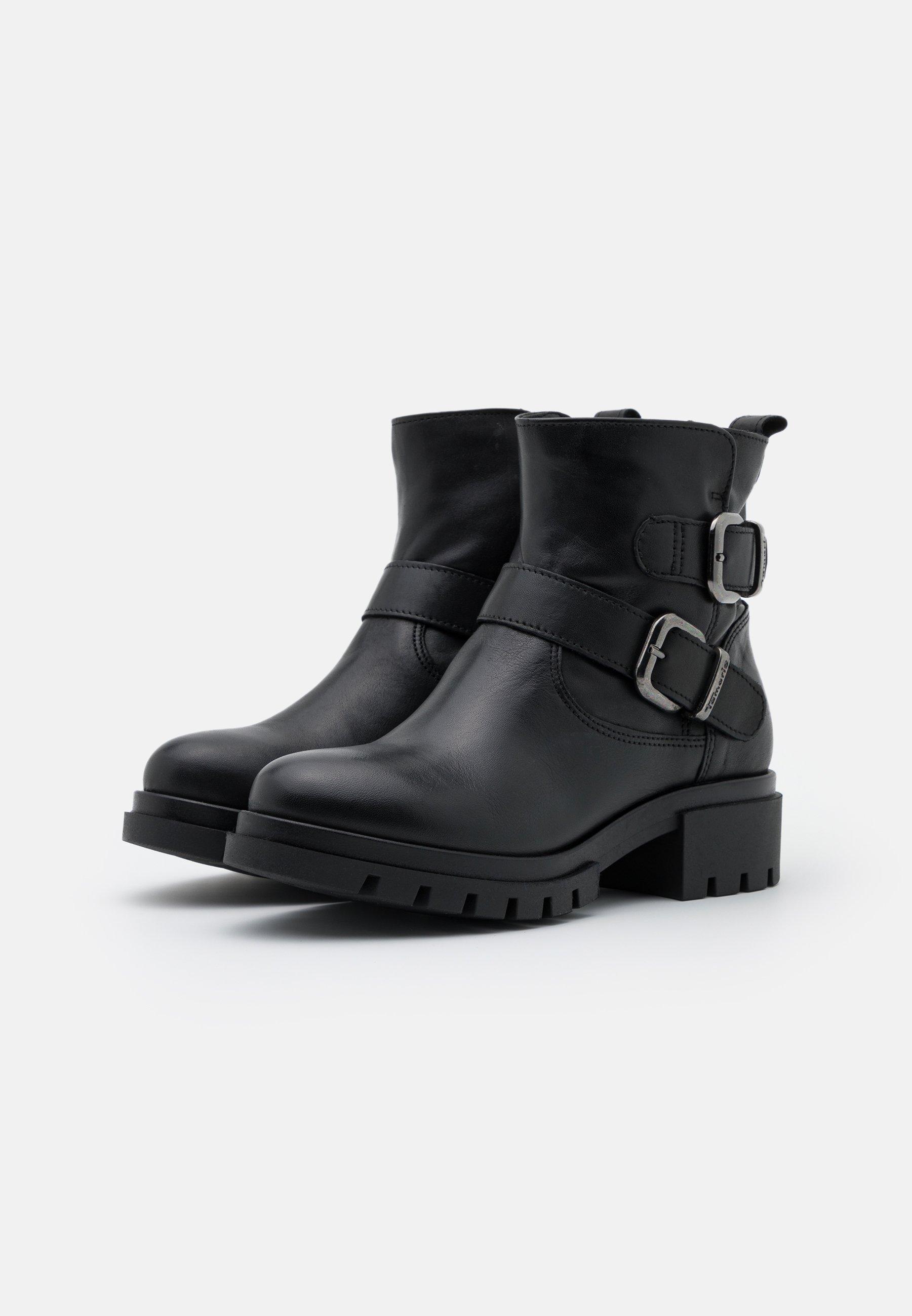 Tamaris BOOTS Cowboy/Bikerstiefelette black/schwarz