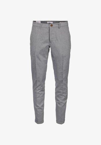 TOMTROUSER - Dressbukse - blue grey