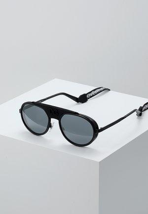Sunglasses - black/matte black/light grey mirror black