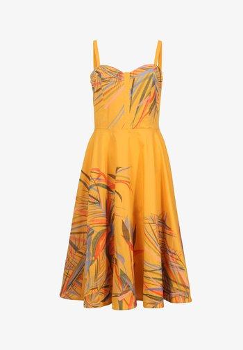 STRAP  - Day dress - golden