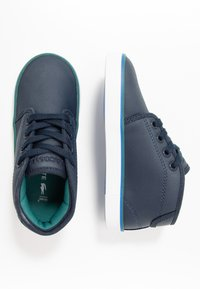 Lacoste - AMPTHILL  - Baby shoes - navy/green - 1