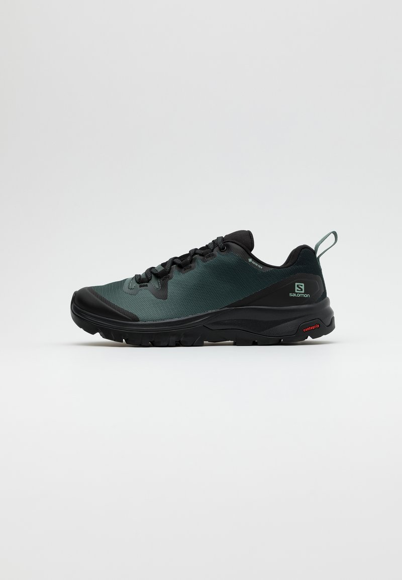 Salomon - VAYA GTX - Outdoorschoenen - black/balsam green