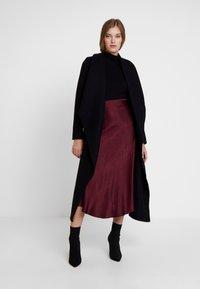 IVY & OAK - BATHROBE  - Classic coat - black - 1