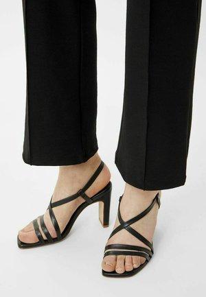 BIADEEDEE - High heeled sandals - black