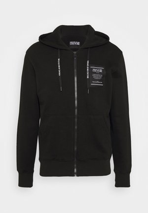 FELPA - veste en sweat zippée - nero