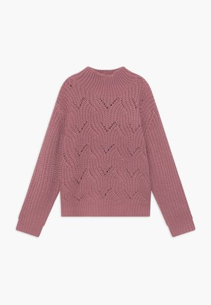 TEENS JUMPER - Strickpullover - mauve