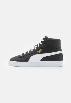 BASKET MID UNISEX - Sneaker high - black/white