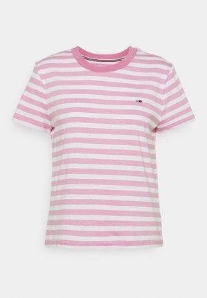 CLASSICS STRIPE TEE - Print T-shirt - pink daisy