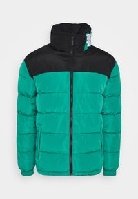 Karl Kani - BLOCK REVERSIBLE PUFFER JACKET - Winter jacket - turquoise - 5