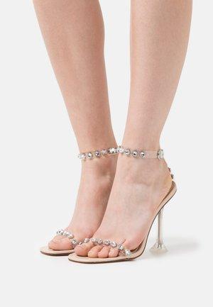 PAULA - Sandals - clear