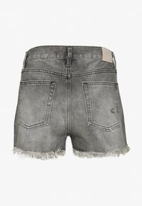 ONLY - ONLFINE LIFE  - Denim shorts - grey denim - 1