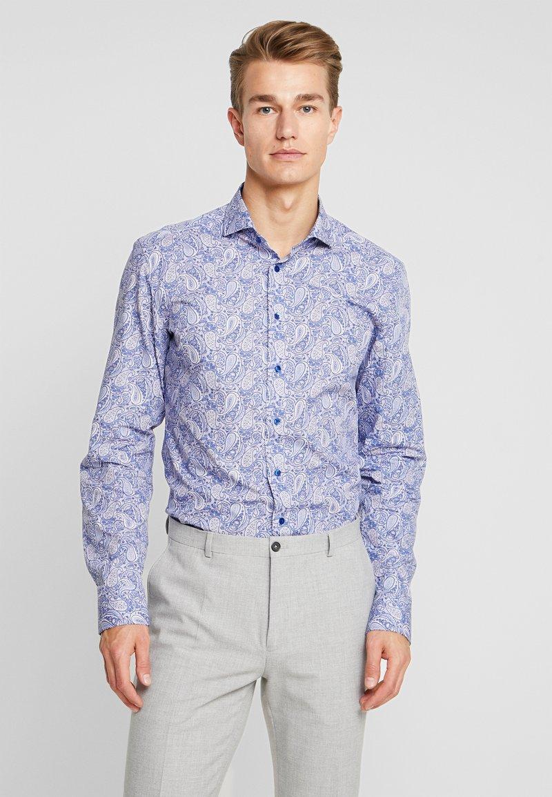 Eterna - SLIM FIT SEAS - Formal shirt - blue