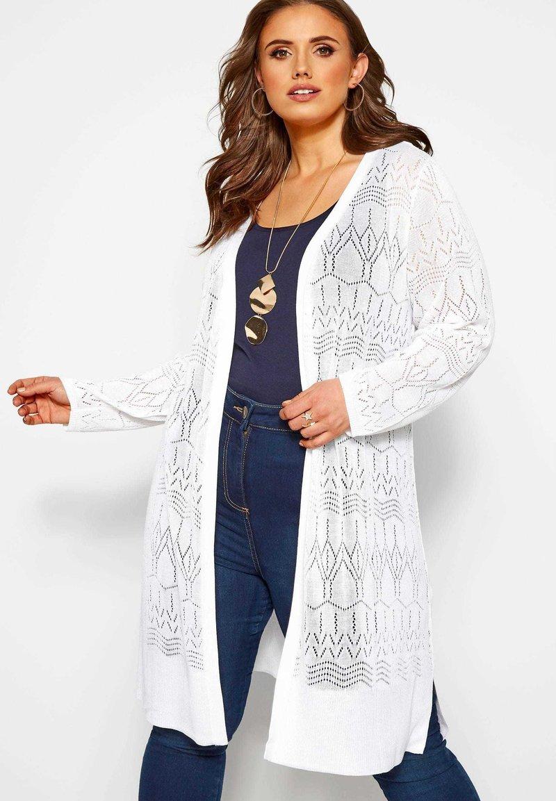 Yours Clothing - Cardigan - white
