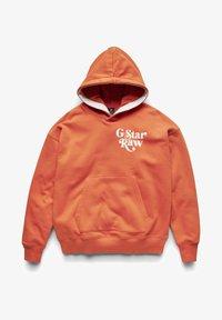 G-Star - PREMIUM CORE OVERSIZED HDD SW - UNISEX - Hoodie - acid orange - 5