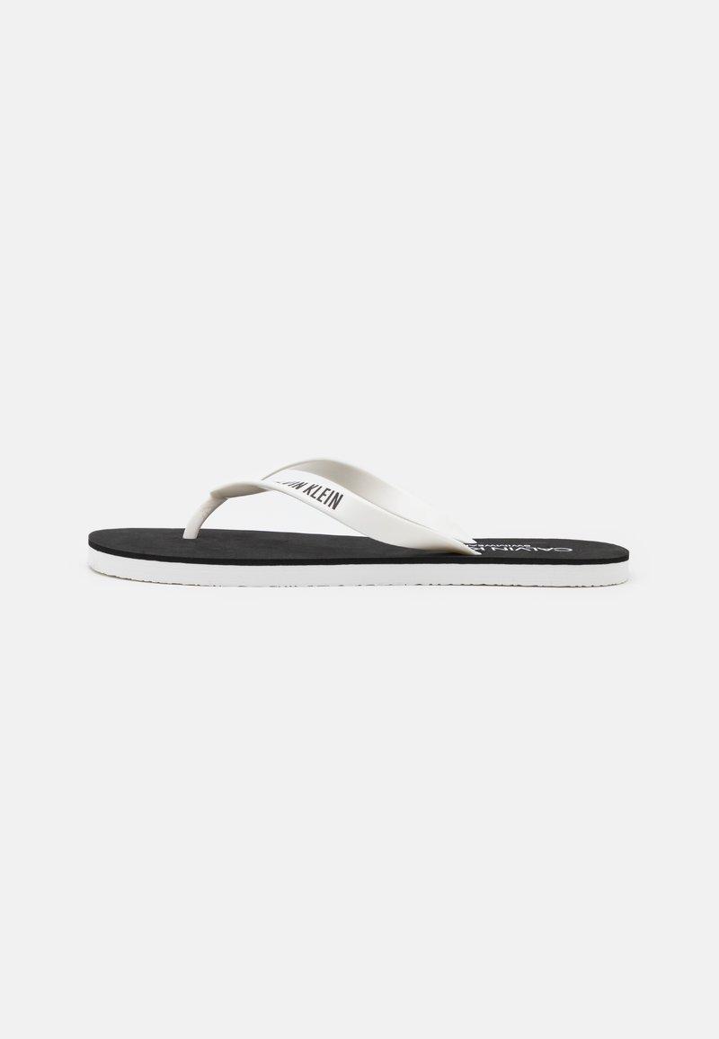 Calvin Klein Swimwear - INTENSE POWER - Pool shoes - classic white