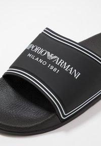 Emporio Armani - MILANO - Mules - black - 5