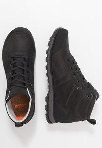 Mammut - ALVRA II MID WP MEN - Hiking shoes - phantom/dark titanium - 1