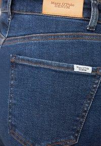 Marc O'Polo DENIM - Straight leg jeans - multi/clean cobalt dark blue - 5
