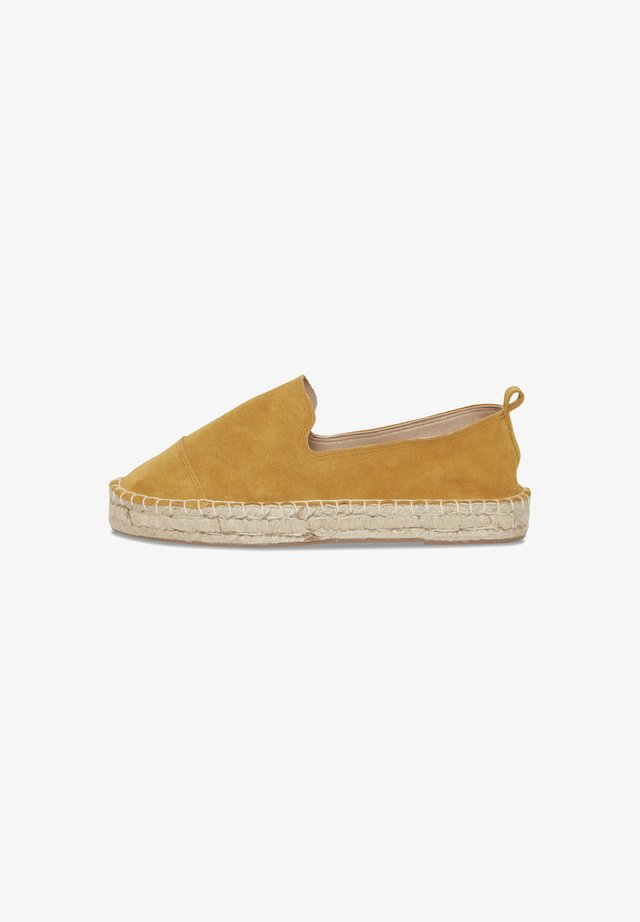 Espadrilles - mineral yellow
