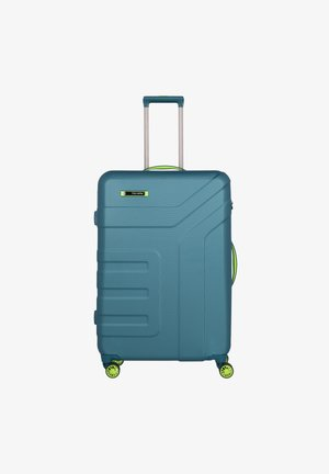 VECTOR 2.0 4-ROLLEN TROLLEY 77 CM - Wheeled suitcase - petrol-limone
