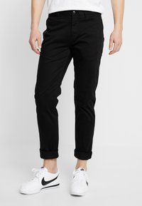 Scotch & Soda - MOTT CLASSIC SLIM FIT - Chinos - black - 0