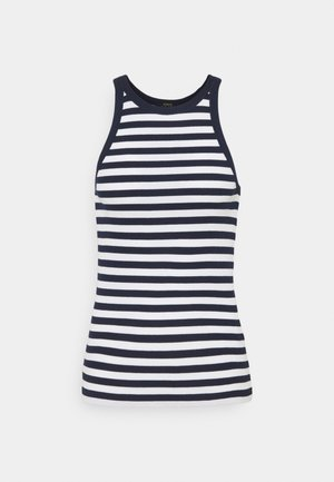 Top - white/cruise navy