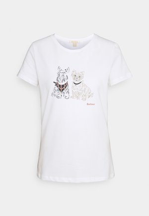 HIGHLANDS TEE - Print T-shirt - white