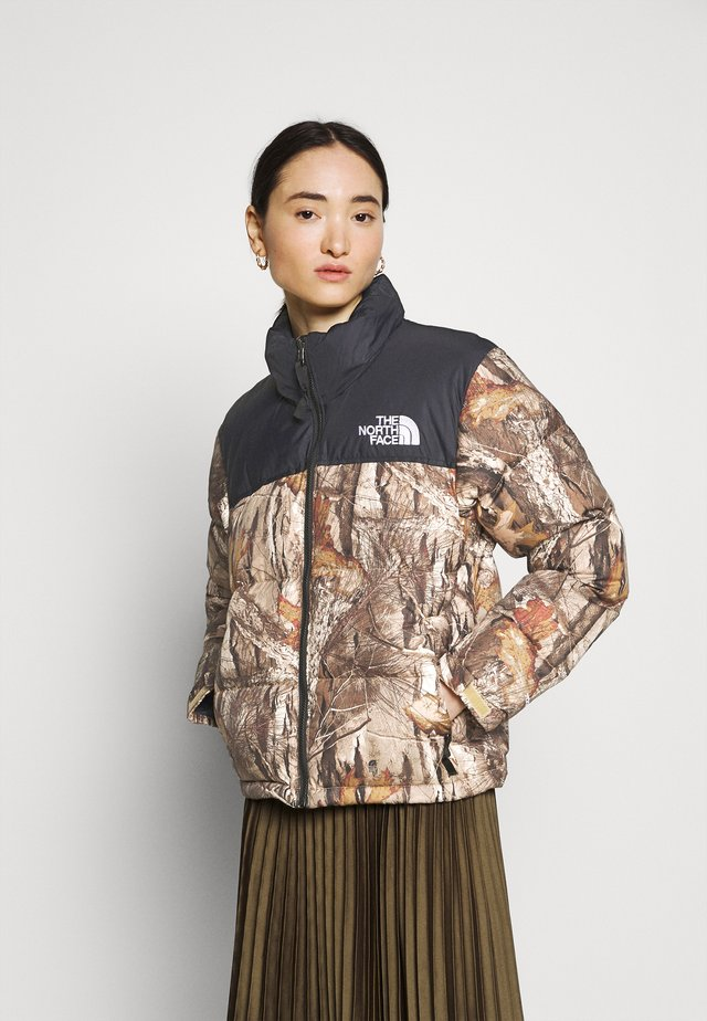 1996 RETRO NUPTSE JACKET - Down jacket - kelp tan
