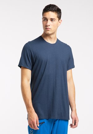 T-shirts basic - tarn blue