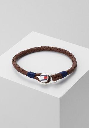 CASUAL - Bracelet - braun/navy