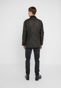 Barbour - ASHBY WAX JACKET - Summer jacket - olive - 2