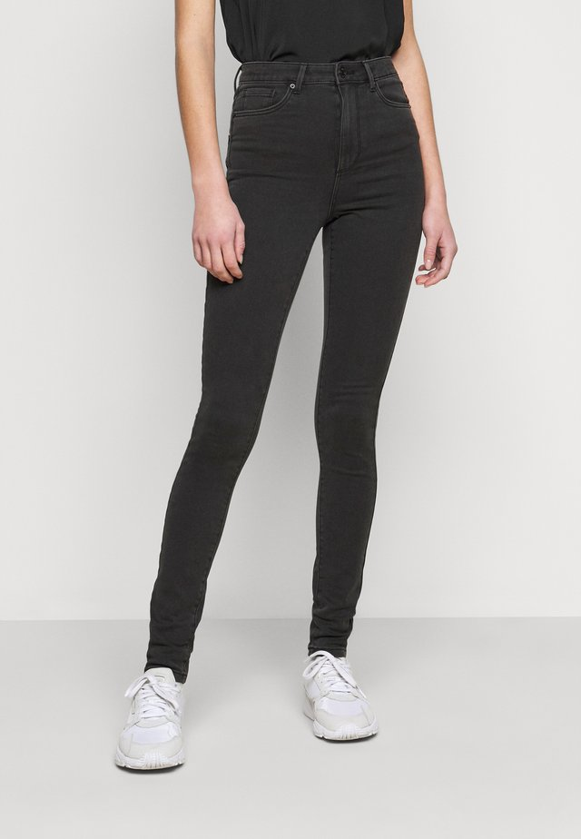 VMSOPHIA SOFT - Jeans Skinny Fit - dark grey denim