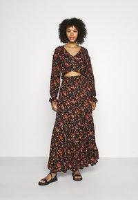 Free People - SECRET GARDEN SET - Maxi skirt - black - 1