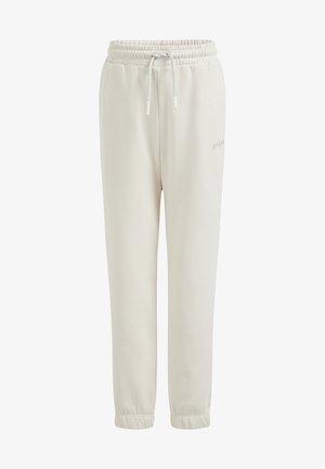 MET OPDRUK - Teplákové kalhoty - off white