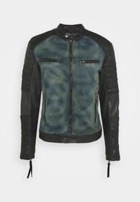Be Edgy - ANDY  - Leather jacket - indigo - 4